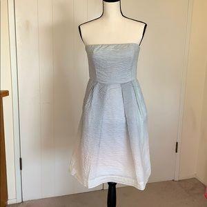 J.Crew strapless textured dress